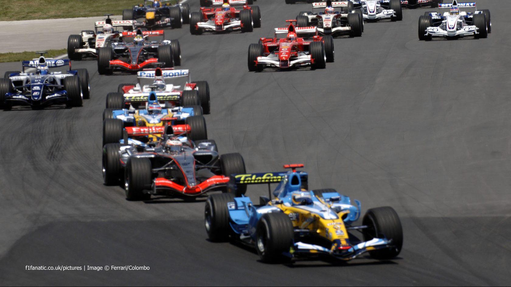 Start, Canadian Grand Prix, Circuit Gilles Villeneuve, Montreal, 2006