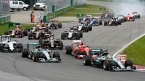 Start, Circuit Gilles Villeneuve, 2015