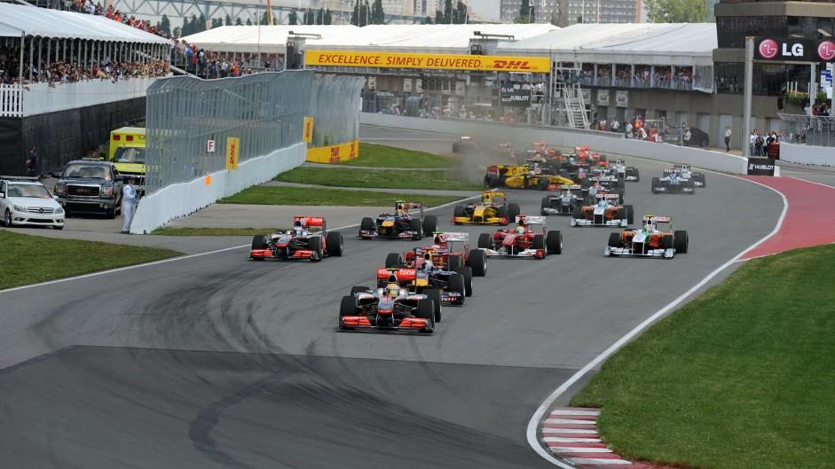 Start Shots: Canadian Grand Prix
