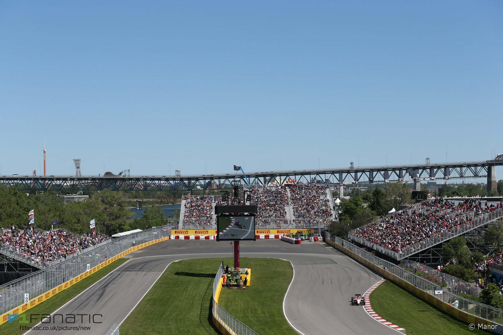 Will Stevens, Manor, Circuit Gilles Villeneuve, 2015