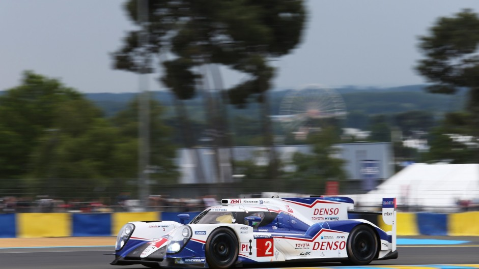 Alexander Wurz/Stephane Sarrazin/Mike Conway, Toyota TS040 #2, Le Mans, 2015