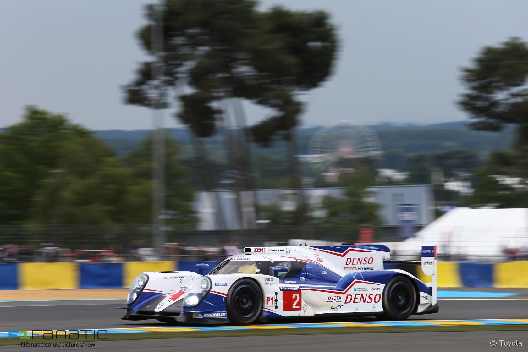 Alexander Wurz/Stephane Sarrazin/Mike Conway, Toyota TS040 #2, Le Mans, 2015