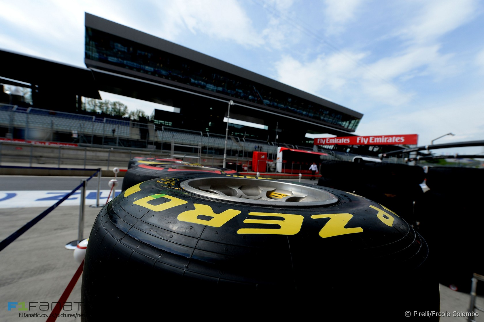Pirelli tyre, Red Bull Ring, 2015