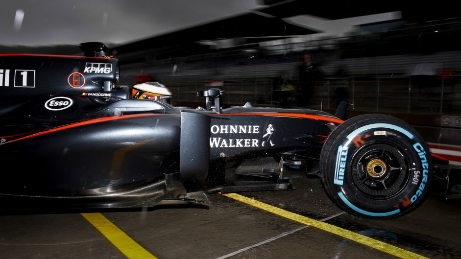 Stoffel Vandoorne, McLaren, Red Bull Ring, 2015