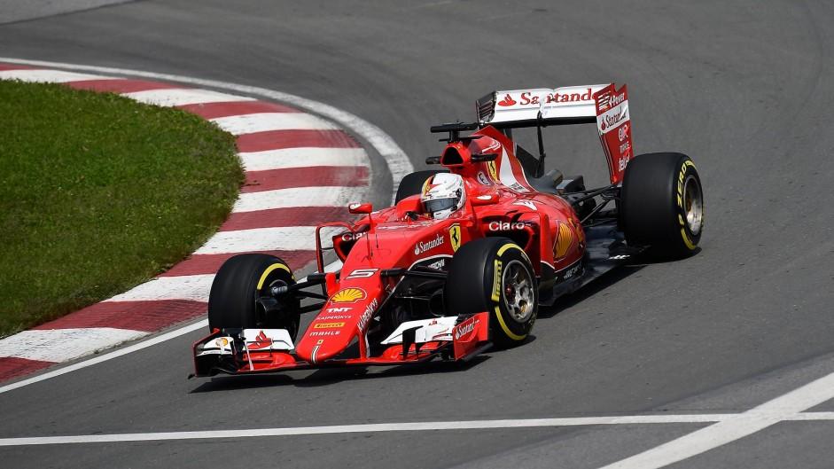 Raikkonen sets fastest lap but Vettel impresses