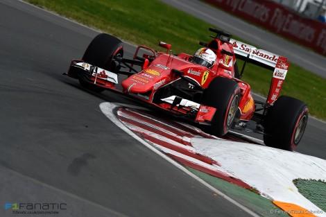 Sebastian Vettel, Ferrari, Circuit Gilles Villeneuve, 2015