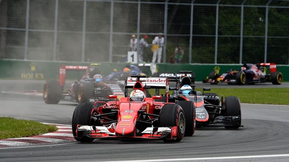 Fifth-placed Vettel wins Driver of the Weekend