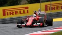 Sebastian Vettel, Ferrari, Red Bull Ring, 2015