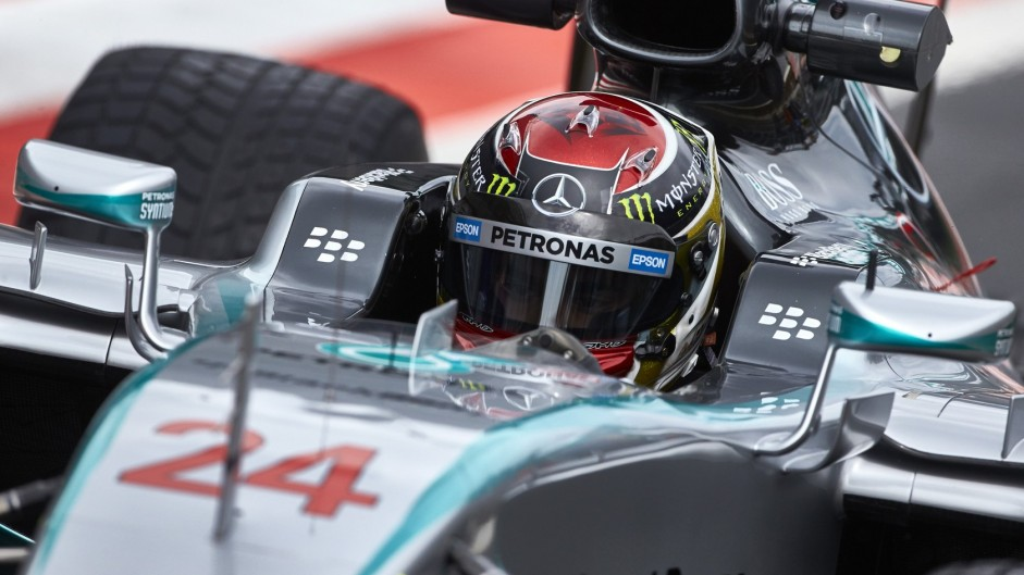 Pascal Wehrlein, Mercedes, Red Bull Ring, 2015