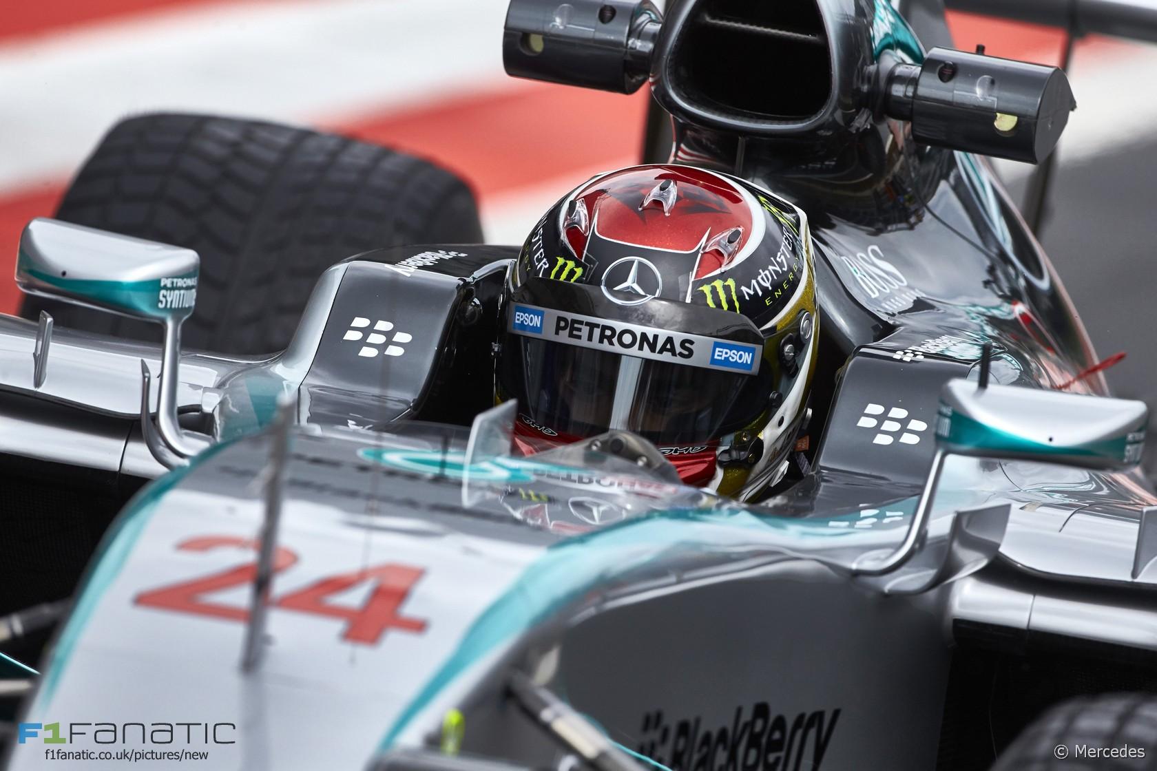 Pascal Wehrlein, Mercedes, Red Bull Ring, 2015