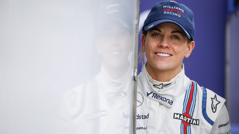 Susie Wolff confirms retirement from motor racing