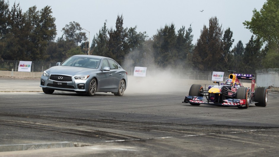 Red Bull first to run on Mexico's F1 track