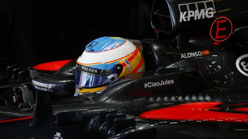 Fernando Alonso, McLaren, Hungaroring, 2015