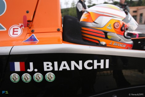 Jules Bianchi, Formula Renault 2.0 Eurocup, Circuit de Catalunya, Barcelona, 2007