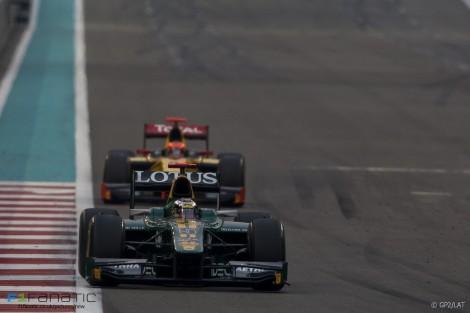 Jules Bianchi, Romain Grosjean, GP2 Asia, Yas Marina, 2011