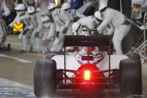 Valtteri Bottas, Williams, Silverstone, 2015