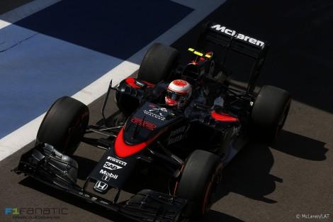 Jenson Button, McLaren, Silverstone, 2015