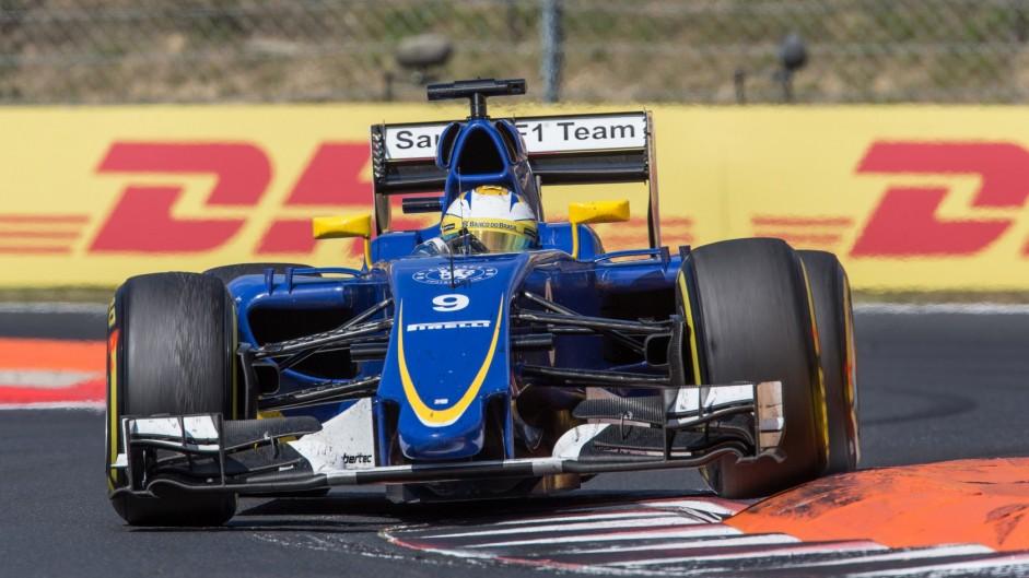 Marcus Ericsson, Sauber, Hungaroring, 2015