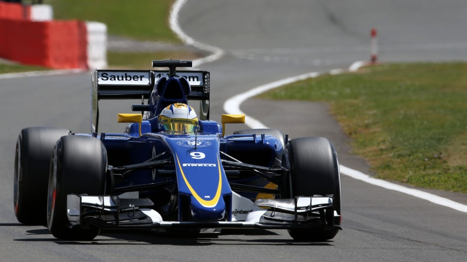 Marcus Ericsson, Sauber, Silverstone, 2015