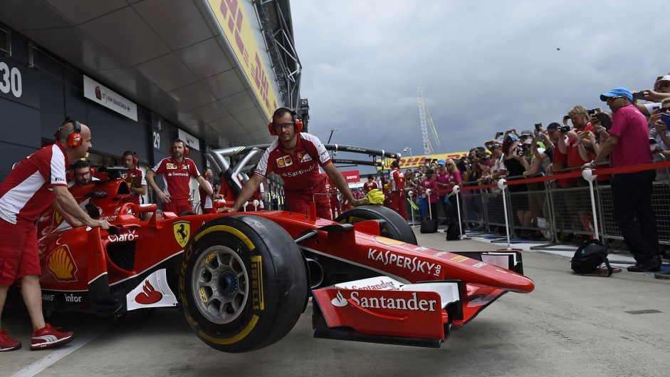 Ferrari, Silverstone, 2015