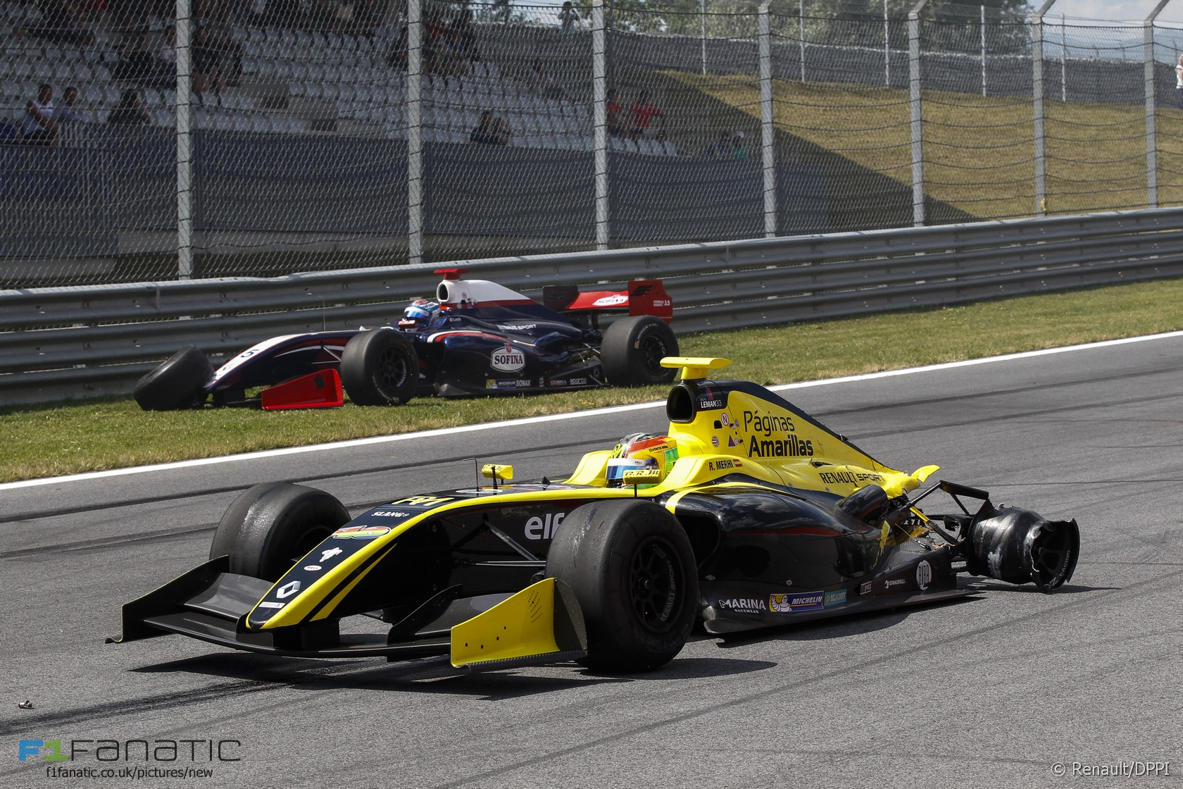 Roberto Merhi, Nicholas Latifi, Formula Renault 3.5, Red Bull Ring, 2015