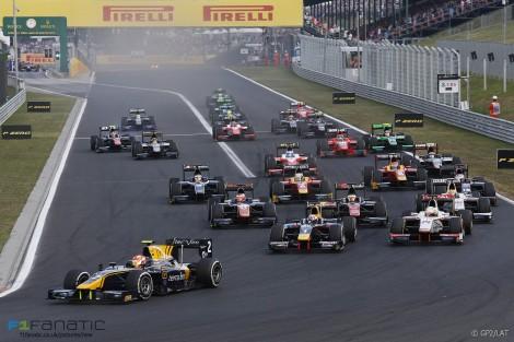 Start, GP2, Hungaroring, 2015