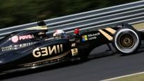 Romain Grosjean, Lotus, Hungaroring, 2015
