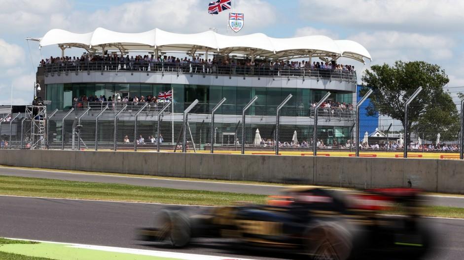 Jaguar Land Rover 'investigating Silverstone bid'