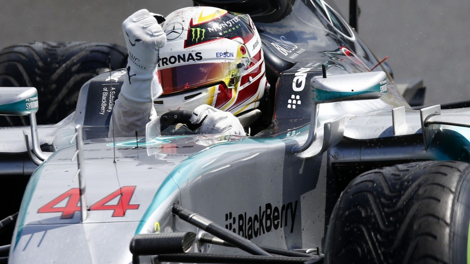 Hamilton banishes memories of Monaco with home race-winning pit call