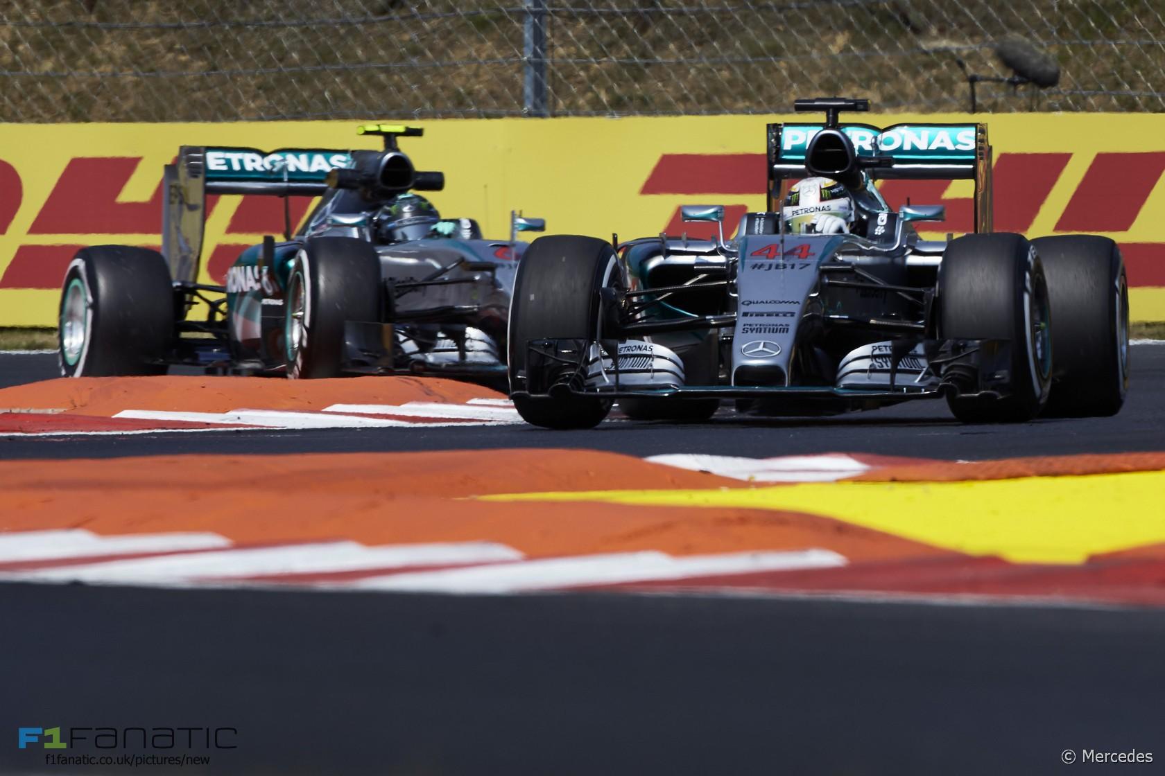 Lewis Hamilton, Mercedes, Hungaroring, 2015