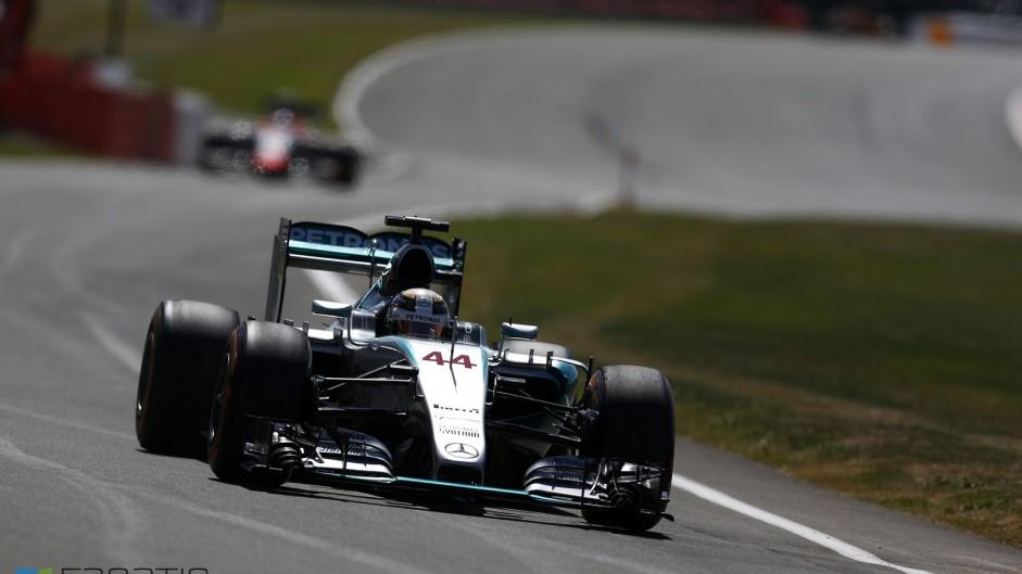 2015 British Grand Prix grid
