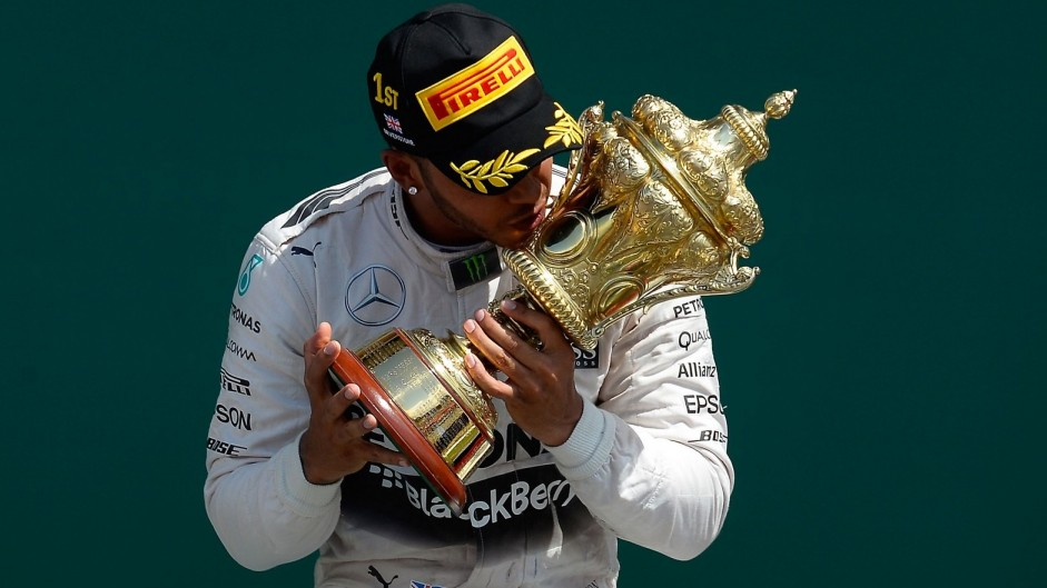 Hat-trick Hamilton takes a record from Stewart