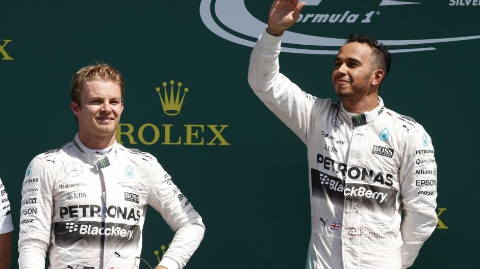 Rosberg rivalry not a problem for Mercedes – Hamilton