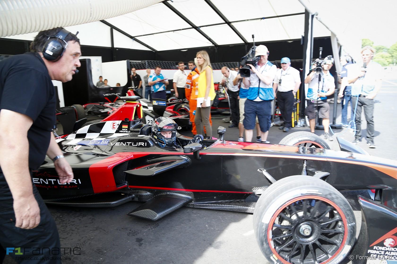Nick Heidfeld, Formula E, Battersea Park, 2015