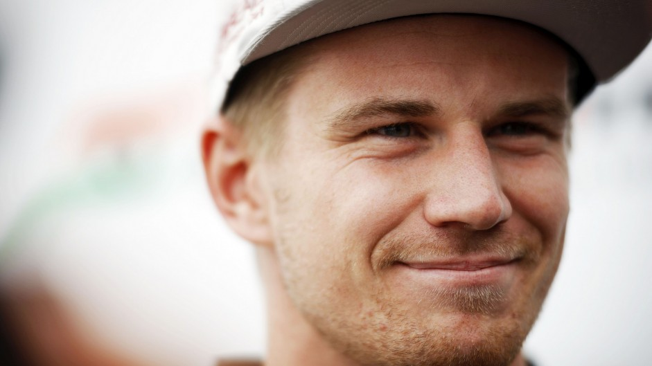 Force India sign new two-year deal with Hulkenberg
