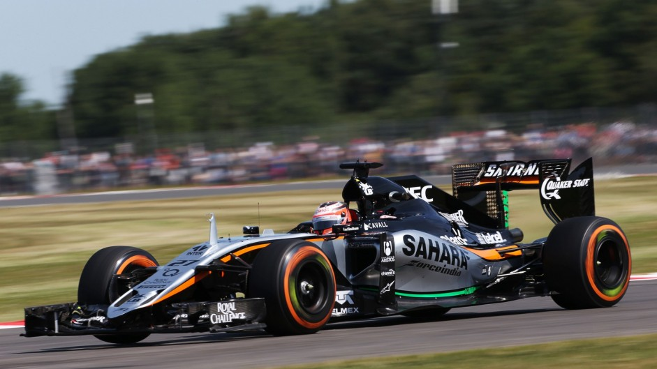 Nico Hulkenberg, Force India, Silverstone, 2015