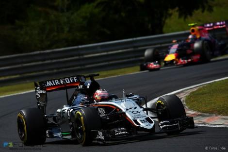 Nico Hulkenberg, Force India, Hungaroring, 2015