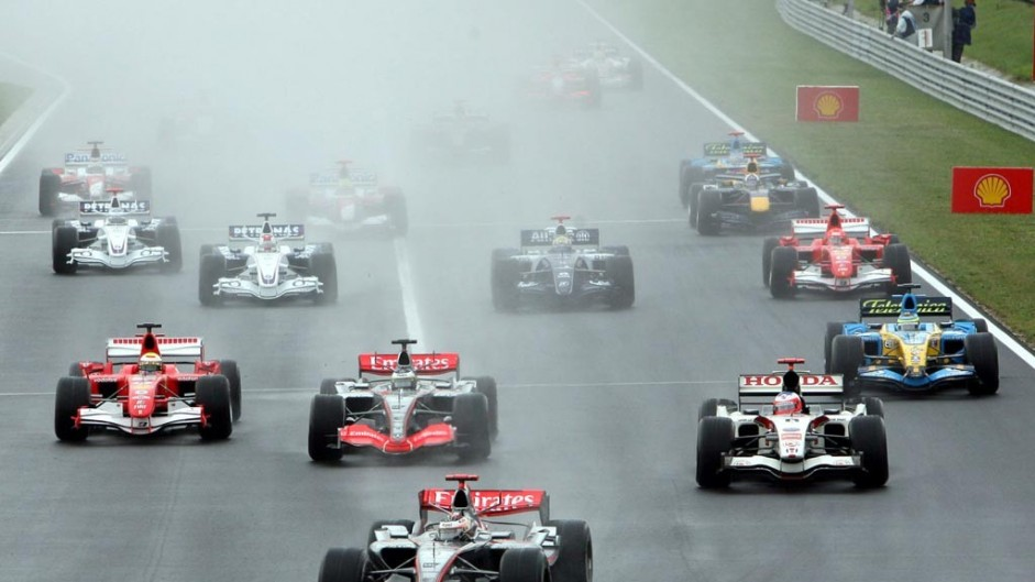 Start shots: Hungarian Grand Prix