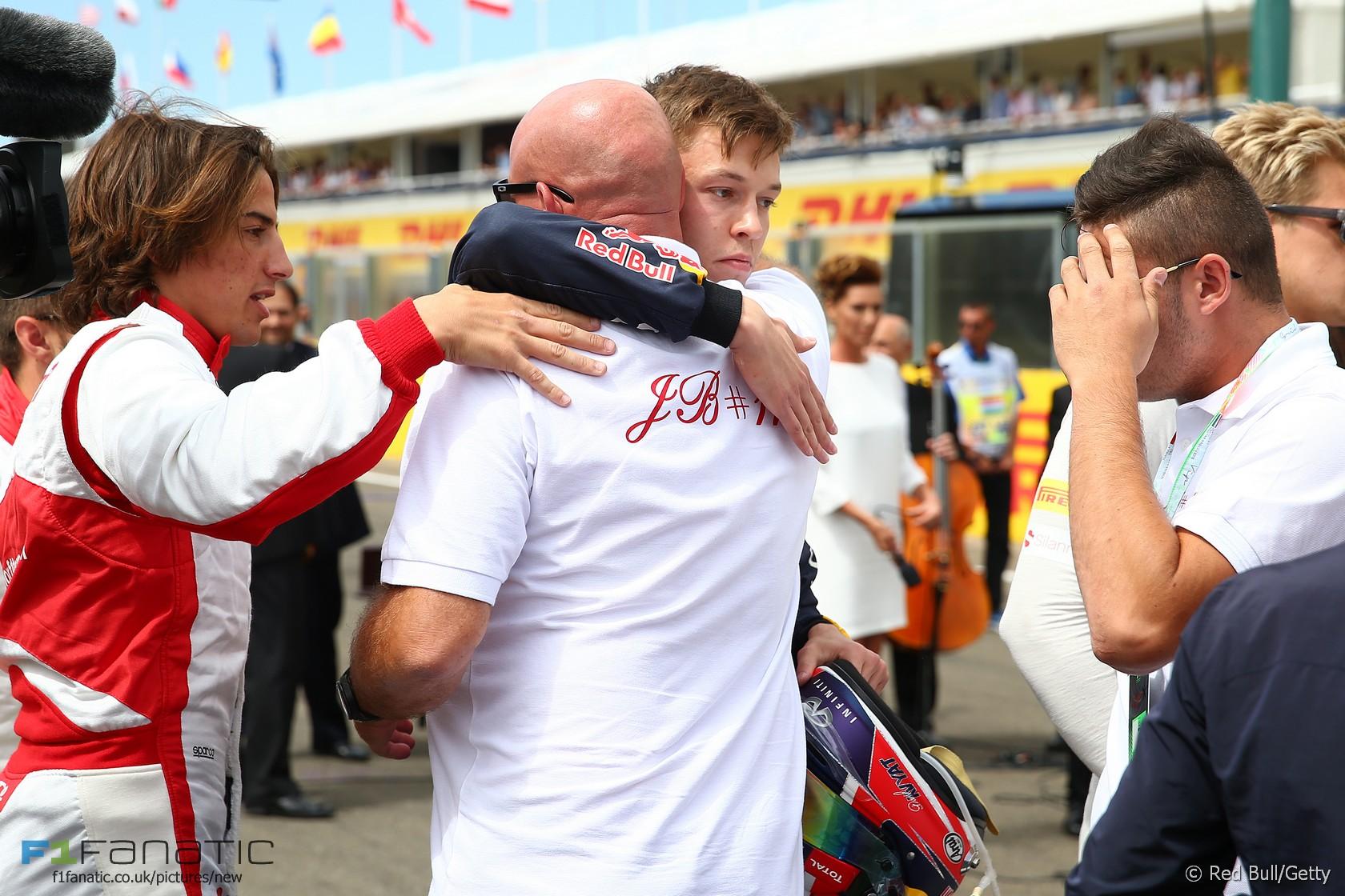 Daniil Kvyat, Red Bull, Hungaroring, 2015