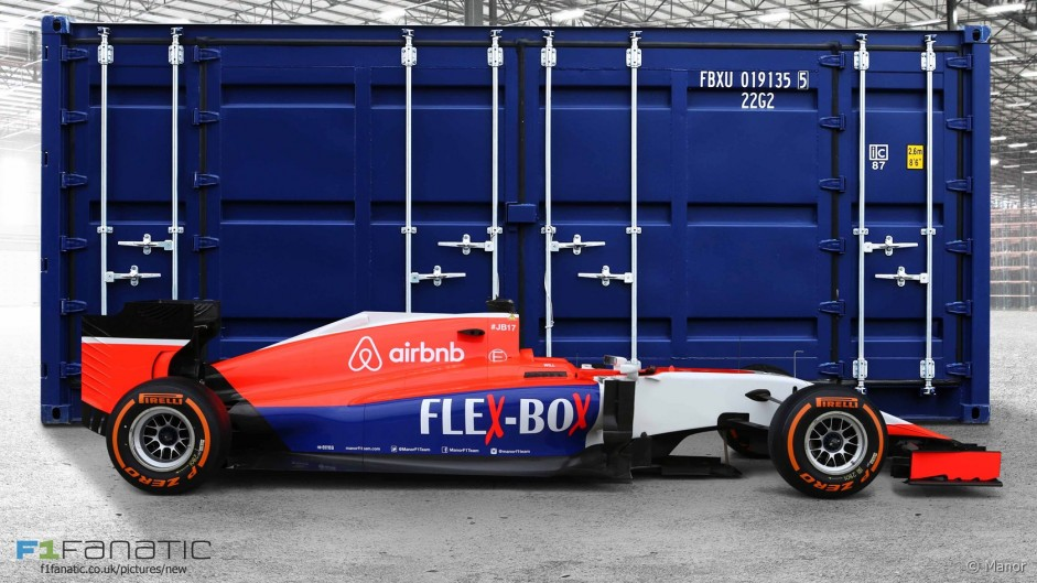 Manor revises livery after new sponsor deal