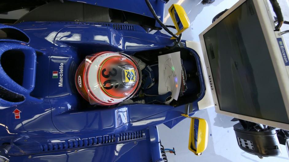 Raffaele Marciello, Sauber, Silverstone, 2015
