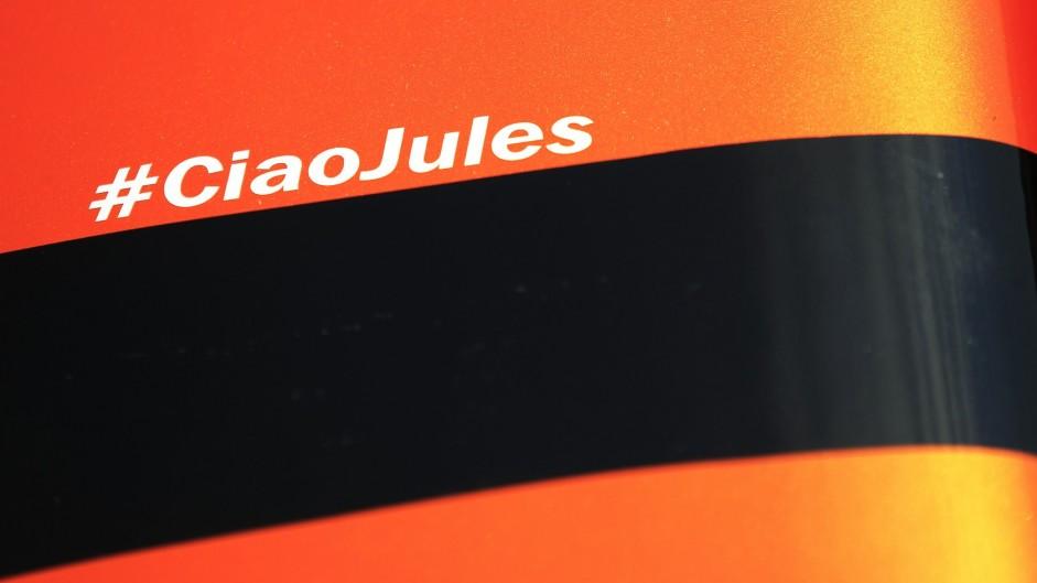 Drivers commemorate Bianchi at Hungaroring