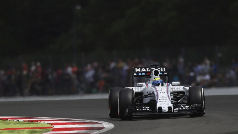 Felipe Massa, Williams, Silverstone, 2015