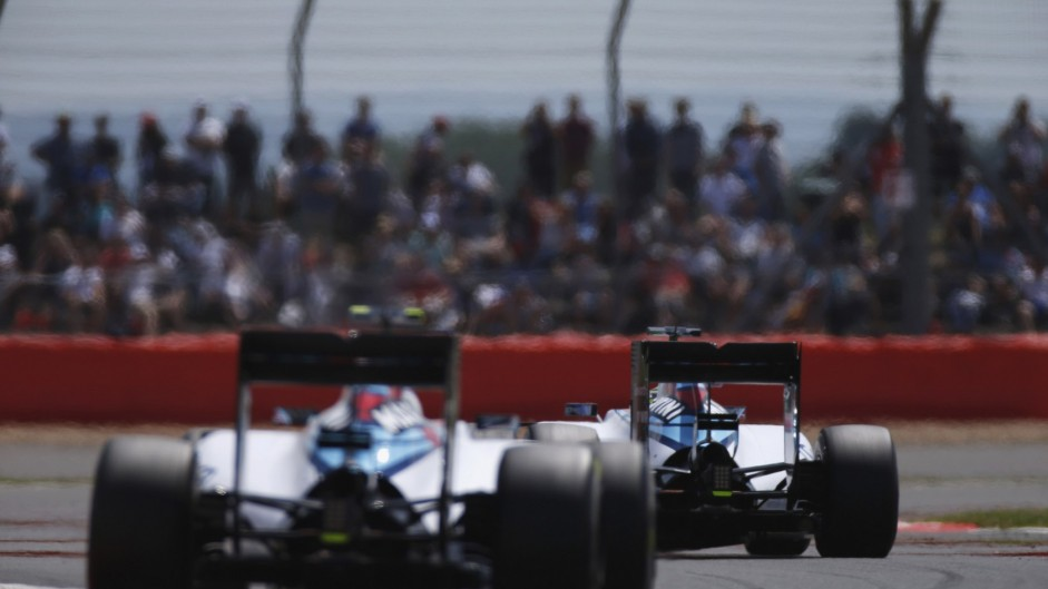 How should Williams have handled Massa and Bottas?