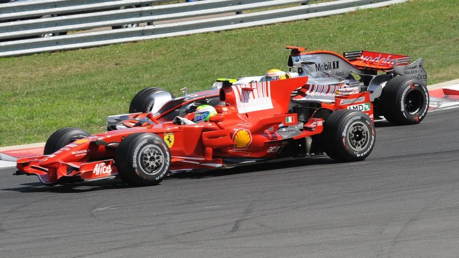 Massa loses Hungary win to Kovalainen