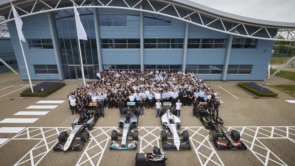 2015 British Grand Prix build-up in pictures