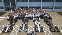 Force India, Mercedes, Williams, Lotus, Silverstone, 2015