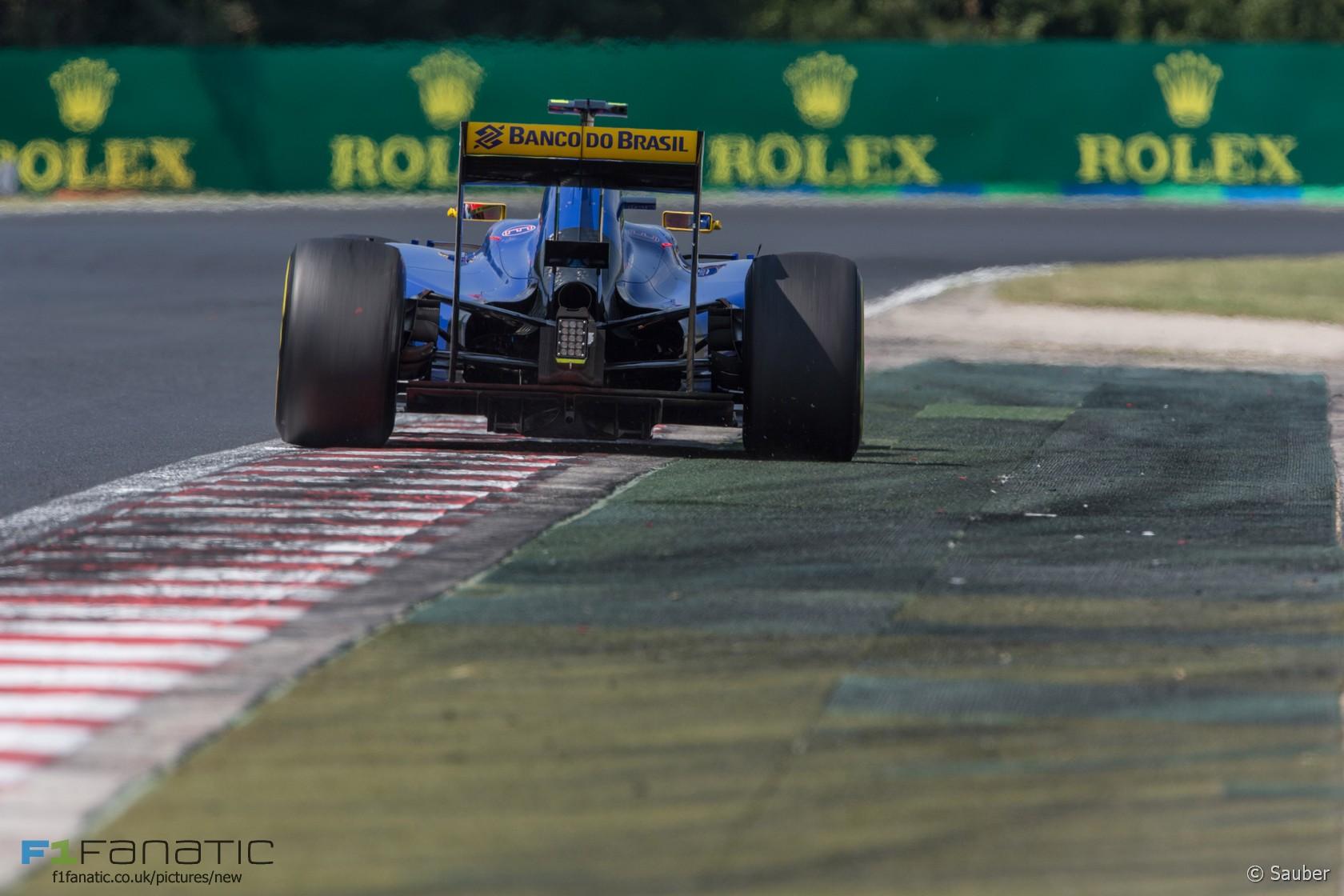 Felipe Nasr, Sauber, Hungaroring, 2015