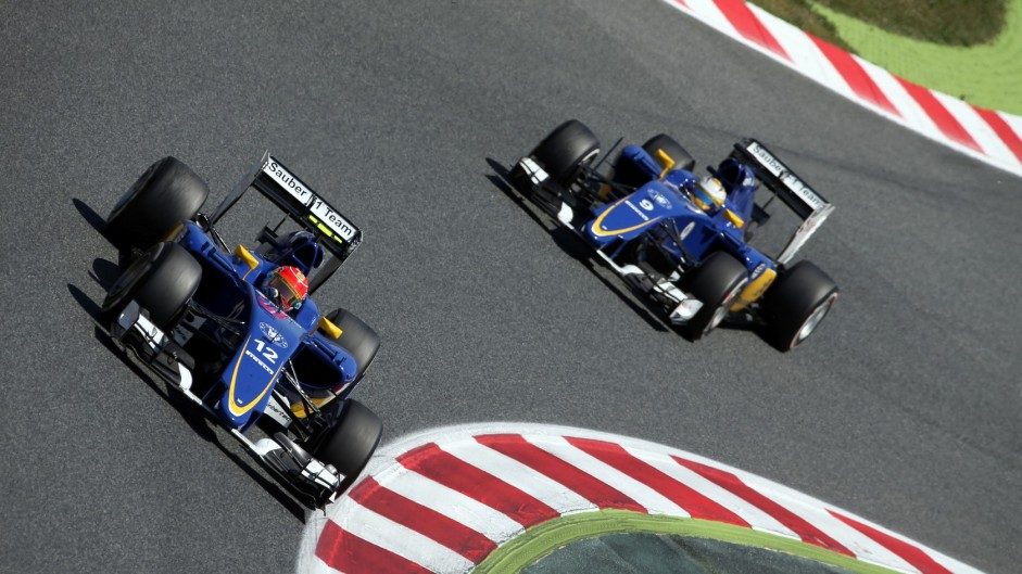 Nasr and Ericsson to stay at Sauber for 2016