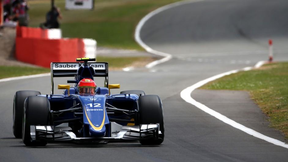 Felipe Nasr, Sauber, Silverstone, 2015